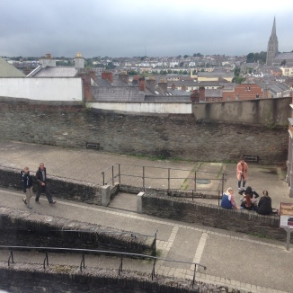 View from the school of the historic Bogside (including the City Walls), cc by Foyle International