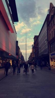 Dublin Einkaufsstraße